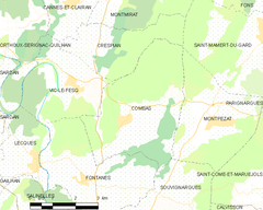 Map commune FR insee code 30088.png