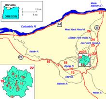 Sandy River Oregon Wikipedia
