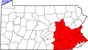 Pennsylvania Dutch Country - Counties of the Pennsylvania Dutch Country