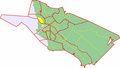 Map of Oulu highlighting Toppila.png