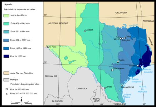 Geografa de Texas  Wikiwand