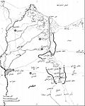 Map of the Egyptian Air Force locations near the Suez Canal Zone, 30 October 1973-ar.jpg