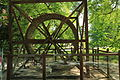Maquette de la grande roue de Léonard de Vinci.JPG