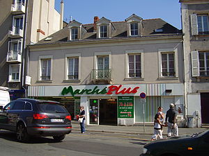 Superette - A Marché Plus location in Angers, France