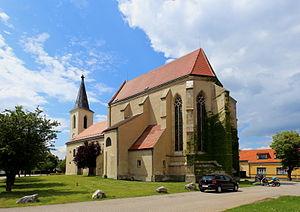 Marchegg - Parish church St. Margaret of Antioch