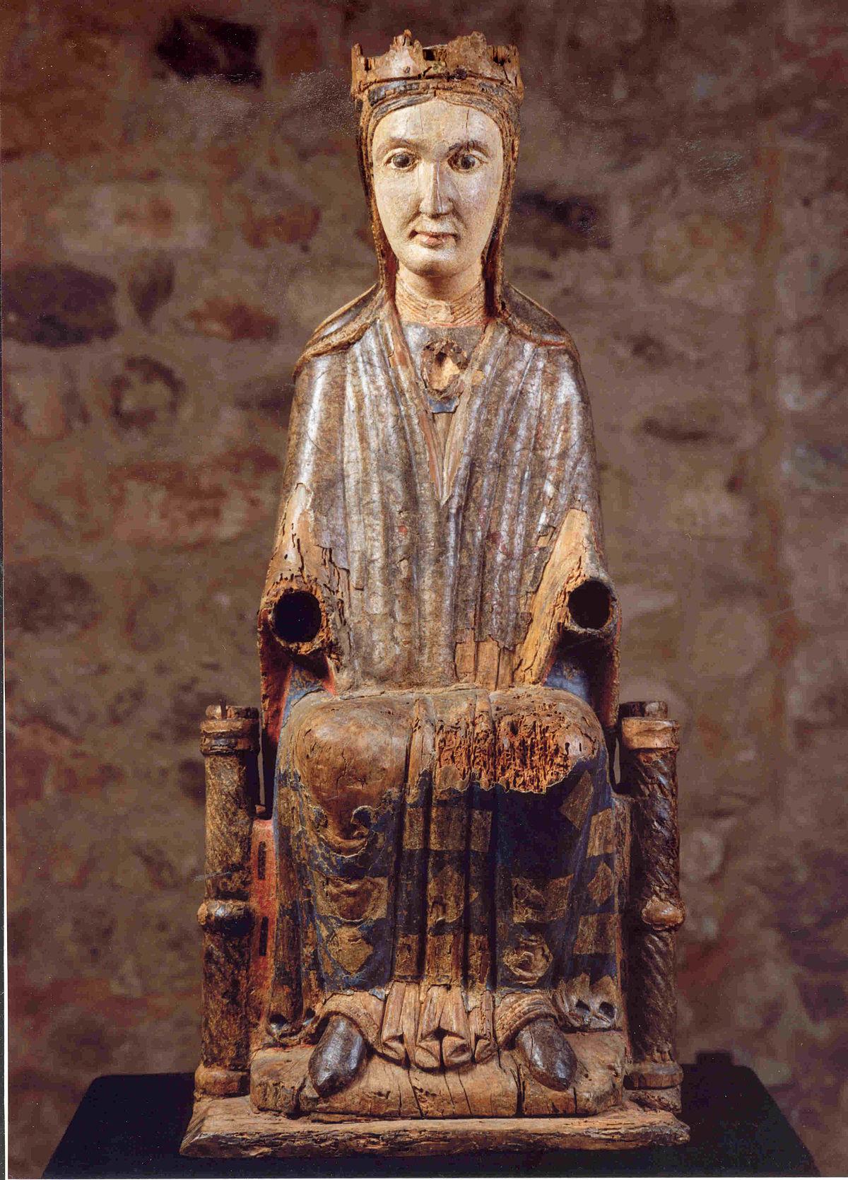 Mare de d u de sant cugat viquip dia l 39 enciclop dia lliure - Alfombras sant cugat ...