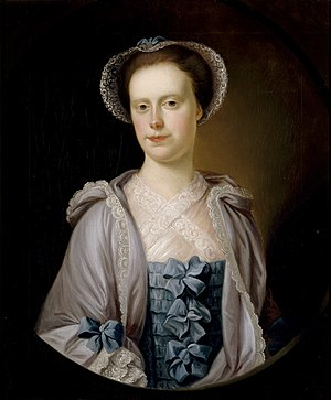 Richard Phelps (artist) - Margaret Fownes-Luttrell (1726-1766), Dunster Castle, National Trust