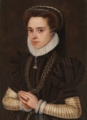 Maria of Portugal, Duchess of Parma (after 1565) - Anthonis Mor (Museo del Prado) (cropped).png