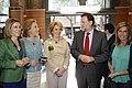 Mariano Rajoy, Esperanza Aguirre, Mª Dolores de Cospedal, Luisa Fernanda Rudí y Ana Mato.jpg
