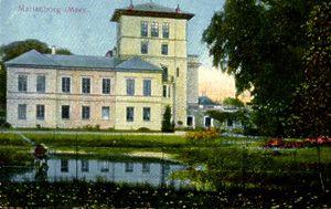 Marienborg Manor - Image: Marienborg Møn 2