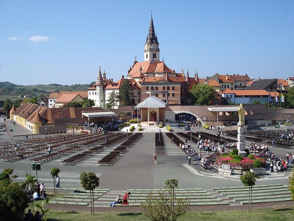 Marija Bistrica - crkva