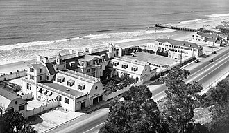 Annenberg Community Beach House - Marion Davies' Beach House in the 1930s