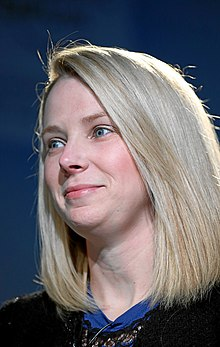 Marissa Mayer - the cool, kind, talented,    with American roots in 2018