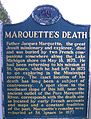 Marquette's Death - Michigan Historical Marker.jpg