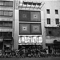 Marseille, La Canebière 112-114., K7 movie theater, scooter Fortepan 87547.jpg