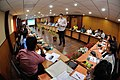 Martin Bellamy Interacts with Participants and Dignitaries - valedictory Session - Collections and Storage Management Workshop - NCSM - Kolkata 2016-02-20 9951.JPG