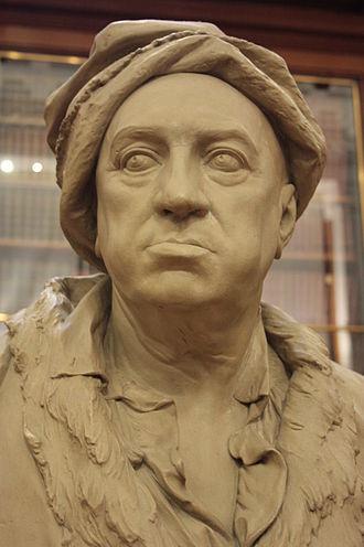 Martin Folkes - Martin Folkes by Roubiliac, British Museum