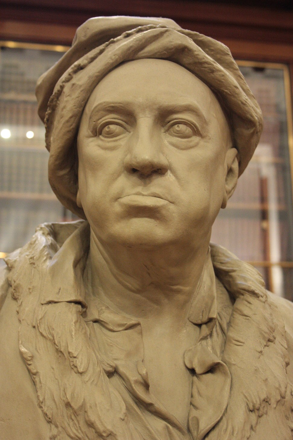 Martin Folkes by Roubiliac, British Museum