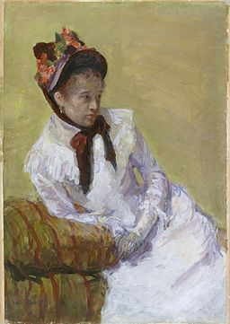 Mary Cassatt - Portrait of the Artist - MMA 1975.319.1