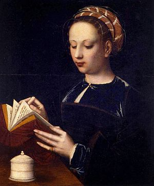 Ambrosius Benson - Ambrosius Benson's The Magdalen Reading, c. 1525.