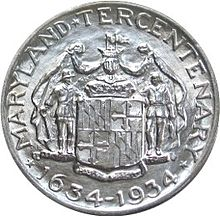 Maryland tercentenary half dollar commemorative reverse.jpg