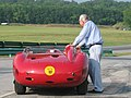 Maserati450S 4508 and Carroll Shelby @ VIRginia Int Raceway 2007.jpg