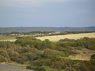 Maslin Beach, South Australia - Agricultural area in Maslin Beach