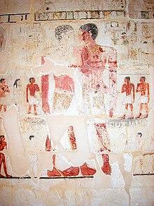 Mastaba of Niankhkhum and Khnumhotep embrace 2.jpg