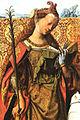 Master Of The St. Bartholomew Altar - St Agnes, St Bartholomew and St Cecilia (detail) - WGA14630.jpg