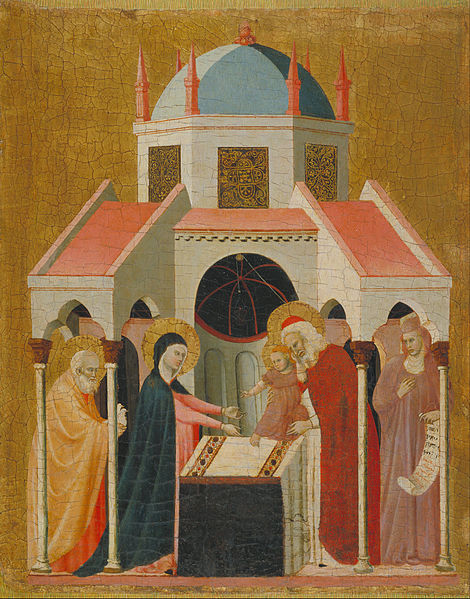 File:Master of the Cini Madonna - Presentation of Jesus at the Temple - Google Art Project.jpg