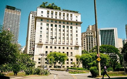 Matarazzo Building, the Sao Paulo city hall. Matarazzo Building.jpg