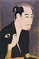 Matsusuke Onoe I as Matsushita Mikinoshinn by Sharaku.jpg