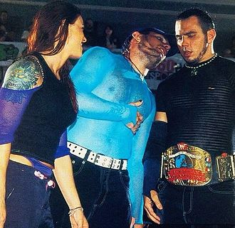 The Hardy Boyz - Matt Hardy as European Champion