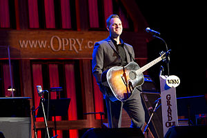 Matthew West - Image: Matthew West Live at the Grand Ole Opry December 13, 2012