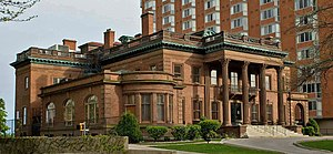 Wisconsin Conservatory of Music - The McIntosh–Goodrich Mansion houses the conservatory