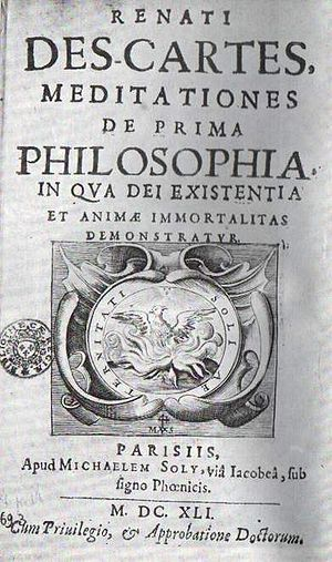 Meditations on First Philosophy cover