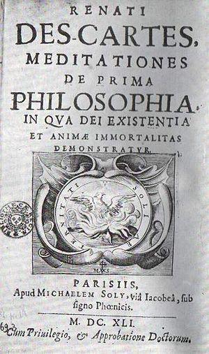 Meditationes de prima philosophia - Renatus Ca...
