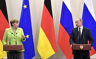 International sanctions during the Ukrainian crisis - German Chancellor Angela Merkel criticized the draft of new U.S. sanctions against Russia, targeting EU-Russia energy projects.