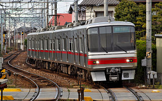 Meitetsu Tokoname Line railway line owned by Meitetsu in Japans Chubu region
