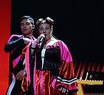 Melodifestivalen 2019, deltävling 1, Scandinavium, Göteborg, programledarna, 20.jpg