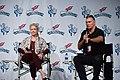 Melody Anderson (Dale Arden) and Sam Jones (Flash Gordon) (49669310371).jpg