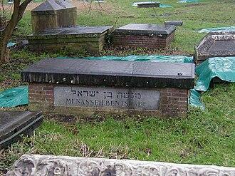 Menasseh Ben Israel - Menasseh's grave in Ouderkerk aan de Amstel