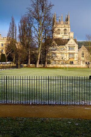 Merton College Chapel - Image: Merton college 2