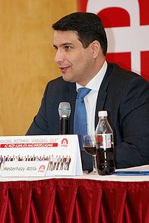 Attila Mesterházy Hungarian politician