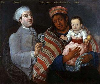 Mestizo - Image: Mestiso 1770