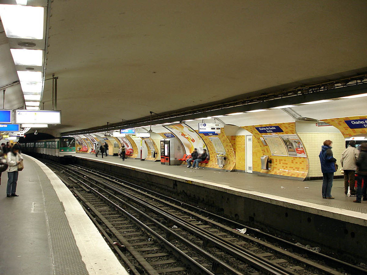 Charles de Gaulle–Étoile (Paris Métro and RER) - Wikipedia