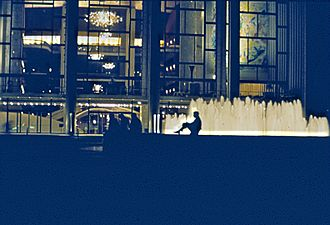 Culture of New York City - The Metropolitan Opera House at Lincoln Center.