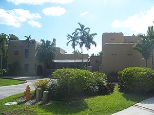 National Register of Historic Places listings in Miami-Dade County, Florida - Image: Miami Springs FL Adams House 01