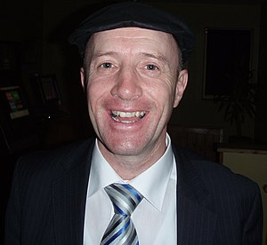 Michael Healy-Rae - Image: Michael Healy Rae smiles for a Constituent