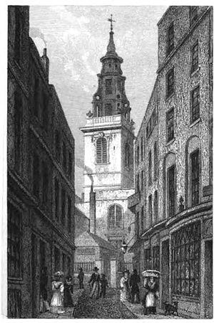 St Michael, Crooked Lane - Image: Michael crooked lane